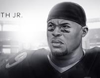 Steve Smith Jr. of the Baltimore Ravens.