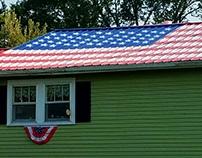American Flag Roof