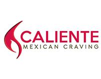 Caliente Mexican Craving logo redesign 2017