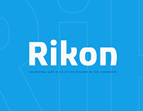 Rikon typeface