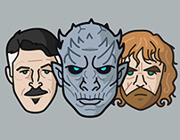 Characters Series Vol 02 - Game of Thrones