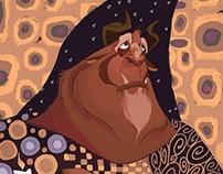 Klimt inspired Beast
