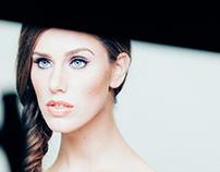 Cassanda Bankson for Vincent Longo Cosmetics