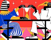 Strelka Mag Illustrations