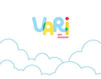 VARI ART ACADEMY | brand idenity design
