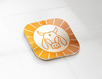 aryanandan gir cow logo