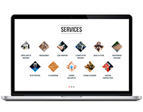 Re-design Service section