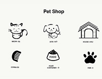 Pet Icons   Helvetical Bold