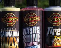 Masterson's Car Care Labels