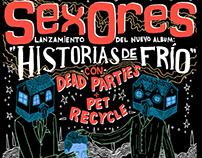 Gig Poster: Sexores, Barcelona