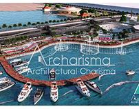 Marine boulevard , Alexandria , Landscape Design