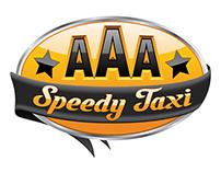 AAA Speedy Taxi Logo