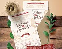 Convite de Casamento | Rodrigo e Monalisa