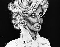 Portrait of Carmen Dell'Orefice