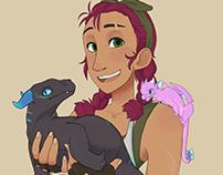 Exotic Dragon Shopkeeper