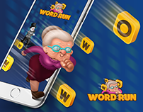 WORD RUN game design