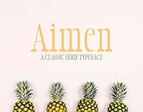 Aimen - Free Serif Typeface