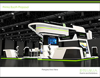 Generic Exhibition Stand 9m x 9m Area
