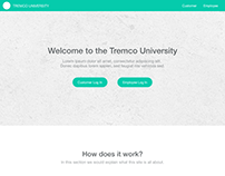 Tremco University Landing Page