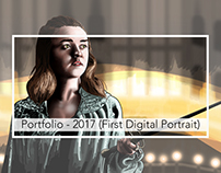 Portfolio: 2017 Illustration (Digital Portrait)
