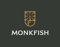 Monkfish Brewery / Logo design