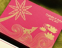 Pradeepa & Rohan wedding card
