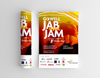 GoWell Jab & Jam Poster