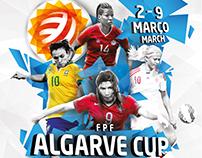 Algarve Cup 2016 . Poster