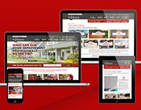 Handyman Company Website Redesign