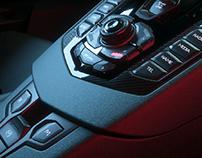 Lamborghini Aventador Center Console | CGI