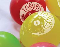 Toadies Waterballoon Tournament Identity