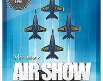 Miramar Air Show Flyer Concept