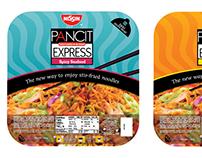 NIssin Pancit Express Tray Lid Design Study