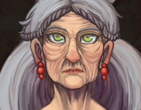 Old Woman from the Wood
