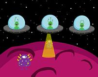 Alien abduction | GIF