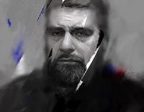 Portrait of Dovlatov