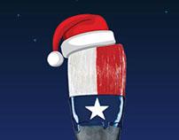 Holiday ecard, Texas Cultural Trust