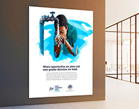 Namibia Fishing Enterprise (NFE) Office Wall Branding