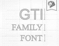 Volkswagen - GTI Family Font