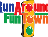 Run Around Fun Town Logo
