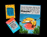 MACKI MUSIC FESTIVAL : VISUAL IDENTITY