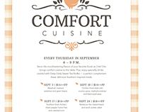 Comfort Cuisine Flyer