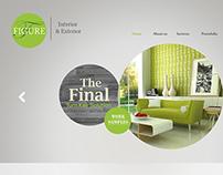 Figure Interior Design website