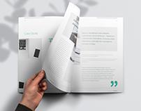 Business brochure design - Corporate case study