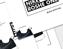 NIKE ROSHE ONE - Black Anth Sail