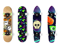 skateboard, halloween,shape