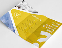 Clean Business Trifold Brochure 4