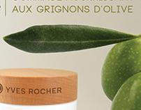 o-live - concept range for Yves Rocher