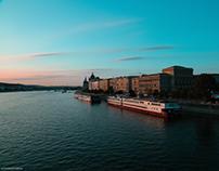 Bustling Budapest