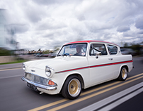 105E Anglia for Classic Ford Magazine
